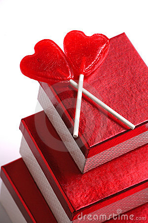 Gifts, Two Lollypops, Valentines
