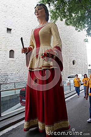 Gigantes y Cabezudos Editorial Photo