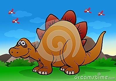 Gigantic dinosaur