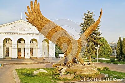 Gigantic eagle