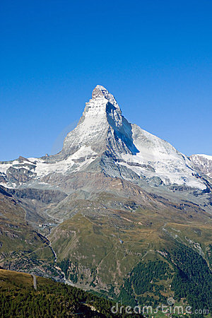 The gigantic Matterhorn