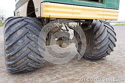Gigantiska hjul
