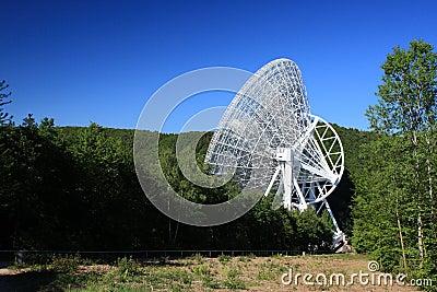 Gigantyczni radiowego teleskopu drewna