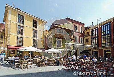 Gijón Editorial Photo