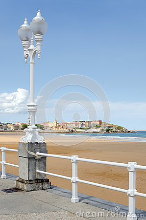Gijon, st Lawrence Beach
