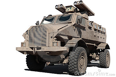 GILA bullet-proof armoured personnel carrier
