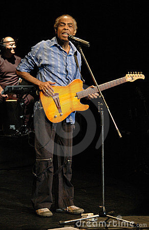 Gilberto Gil Editorial Image