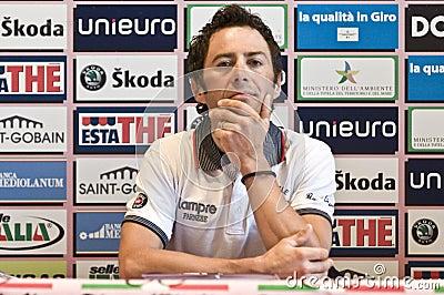 Gilberto Simoni Giro d Italia Editorial Image