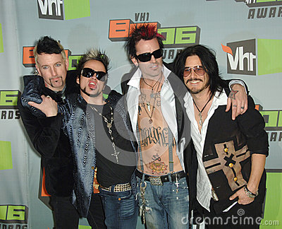 Gilby Clarke,Johnny Colt,Lukas Rossi, Rock Star:Supernova,Tommy Lee Editorial Stock Photo