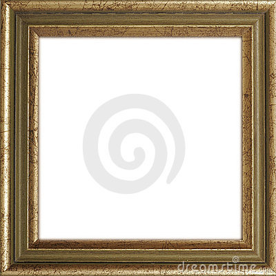 Gilded Picture Frame Royalty Free Stock Photo - Image: 129565
