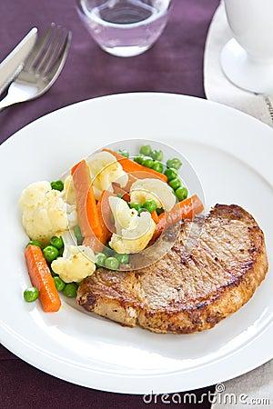 Free Gilled Pork [Pork Steak ] Stock Photo - 23092980
