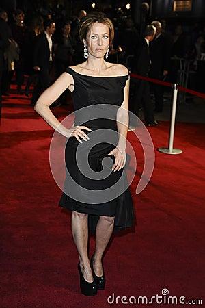 Gillian Anderson Editorial Image