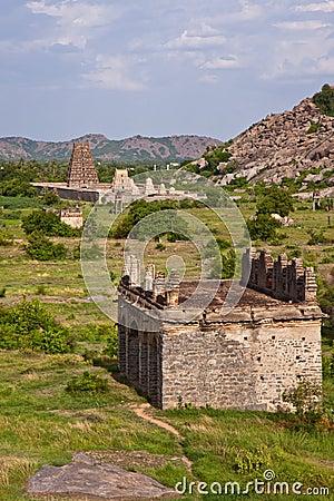 Gingee Fort Scene