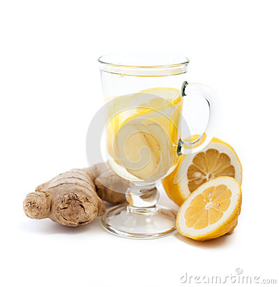 Free Ginger And Lemon Drink Royalty Free Stock Photography - 29769157