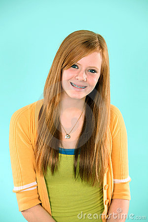 Redheads with braces