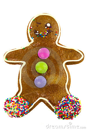Ginger bread cookie man