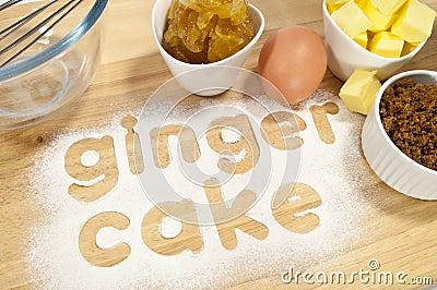 Ginger Cake Ingredients