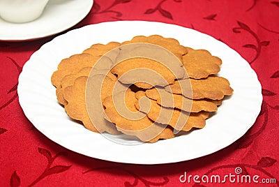 Ginger Crisp Cookies