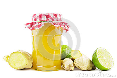 Ginger lime jelly