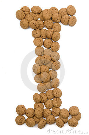 Ginger Nut Alphabet I