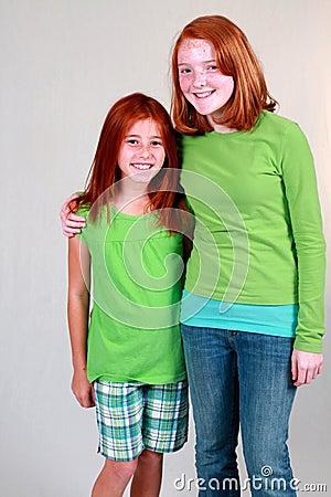 Ginger Preteens