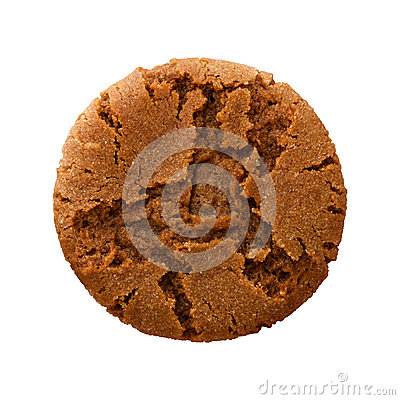 Free Ginger Snap Cookie Royalty Free Stock Photo - 48329725