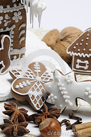 Free Gingerbread Royalty Free Stock Images - 17359269