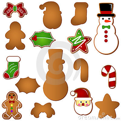 Gingerbread (Christmas festival biscuit - cookie)