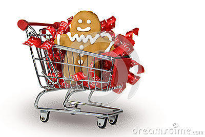 Gingerbread Cookie in cart
