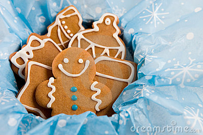 Gingerbread  Cookies Stock Photo - Image: 7501450