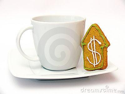 Gingerbread and cup