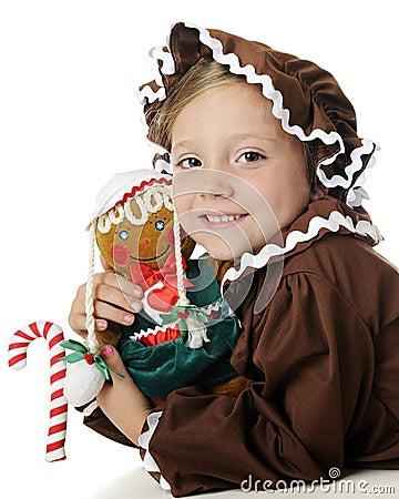 Gingerbread Girl Impersonators
