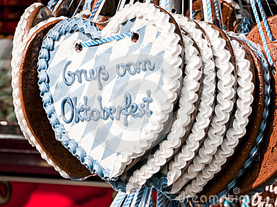 Gingerbread heart Editorial Photo
