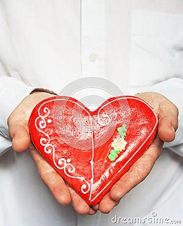 Gingerbread heart / Valentine