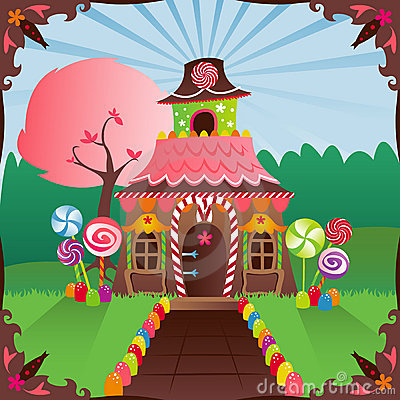 Free Gingerbread House Stock Images - 1292294