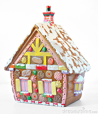 Free Gingerbread House Royalty Free Stock Photography - 2955747