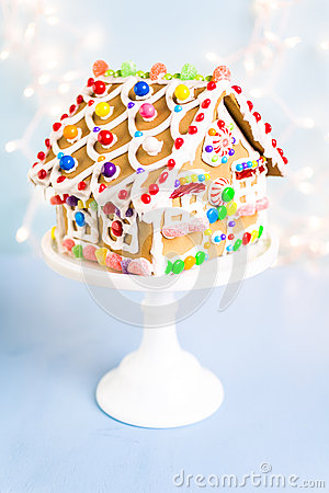 Free Gingerbread House Stock Photos - 63899303