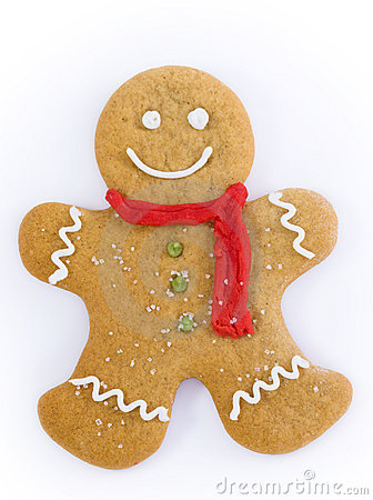 Free Gingerbread Man Royalty Free Stock Image - 7047626