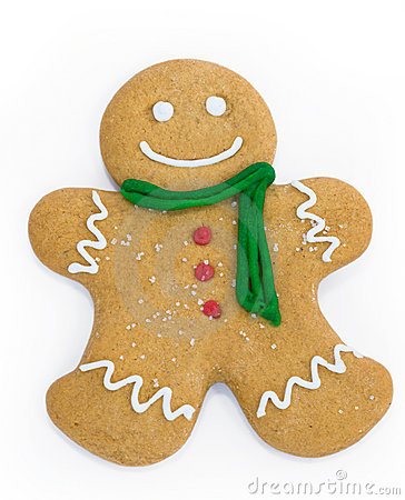 Free Gingerbread Man Royalty Free Stock Photo - 7047655