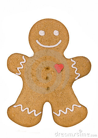 Free Gingerbread Man Stock Photography - 8129842