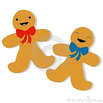 gingerbread man cookies (click