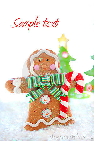 Gingerbread man winter