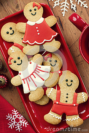Free Gingerbread Men Royalty Free Stock Photos - 27039208