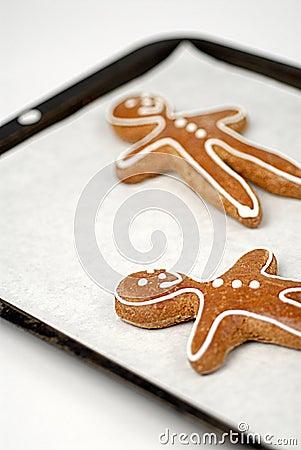 Free Gingerbread Men Royalty Free Stock Photos - 5276458