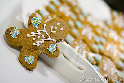 Gingerbread Men Royalty Free Stock Images - Image: 6153089