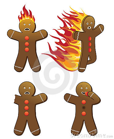 Free Gingerbread Men Royalty Free Stock Image - 6633826
