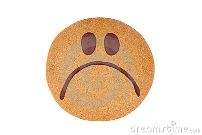 Gingerbread smiley