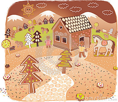 Gingerbread world