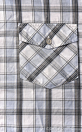 Gingham background.