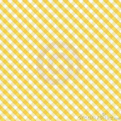 Gingham Cross Weave, Gold, Seamless Background
